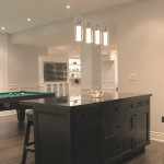 maple cabinets bar