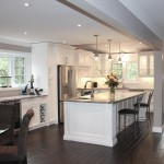 large white classic kitchen
