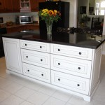 white pot drawer island 3